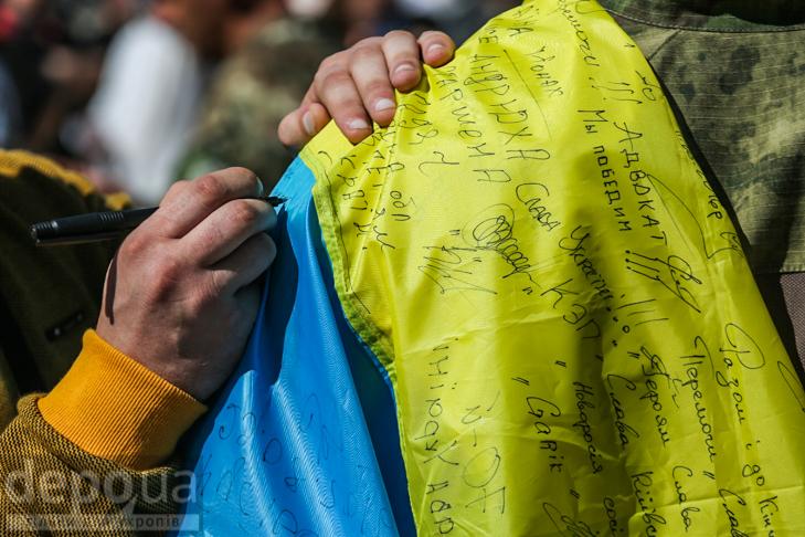 Як бійці добробатів поминали побратимів, загиблих під Іловайськом - фото 13