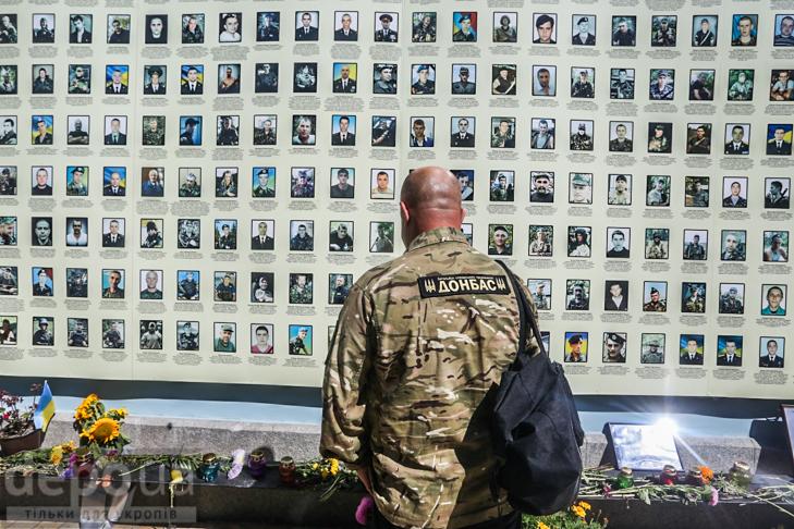Як бійці добробатів поминали побратимів, загиблих під Іловайськом - фото 19