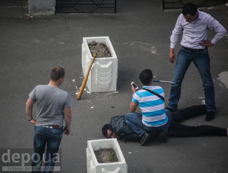 У центрі Києва сталася стрілянина - фото 3