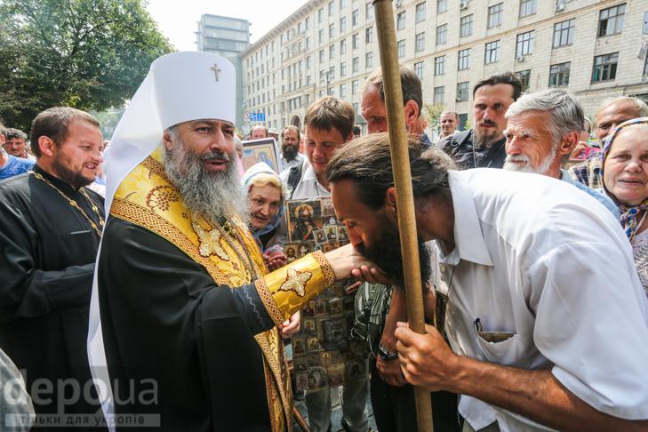 Як УПЦ МП хрестило Русь на Володимирській гірці - фото 5