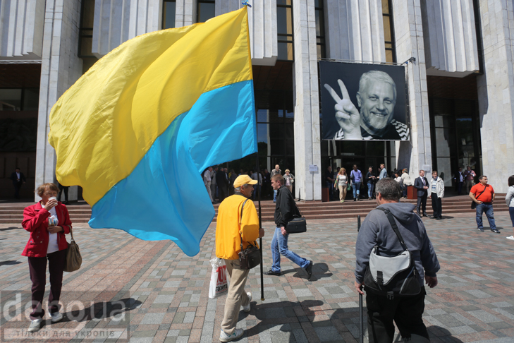 Як Україна прощалась з Павлом Шереметом (ФОТОРЕПОРТАЖ) - фото 1