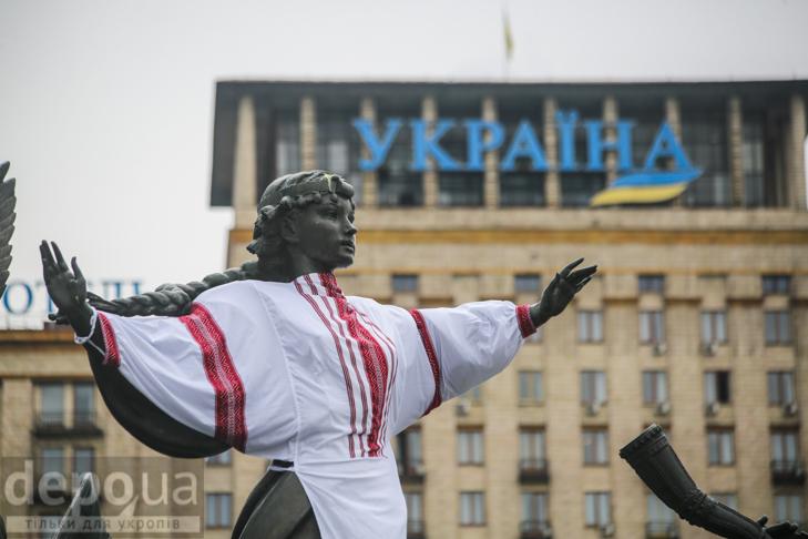 Код нації: Київ вдягнувся у вишиванки - фото 9