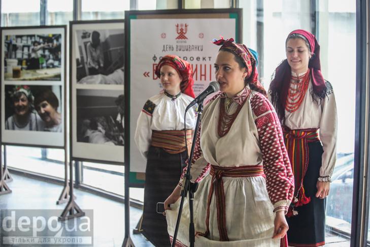 Код нації: Київ вдягнувся у вишиванки - фото 3