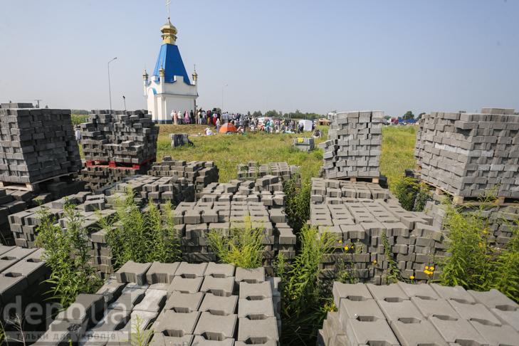 Як відпочивали під Борисполем учасники Хресної ходи - фото 3