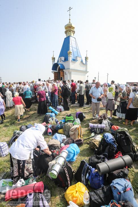Як відпочивали під Борисполем учасники Хресної ходи - фото 12