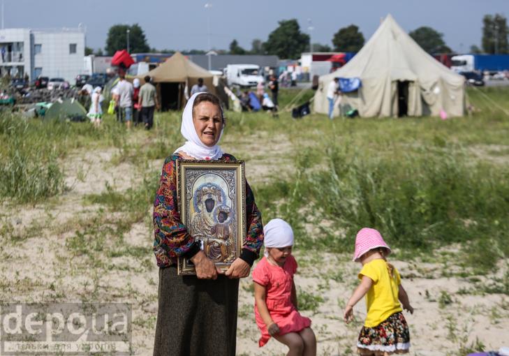 Як відпочивали під Борисполем учасники Хресної ходи - фото 25