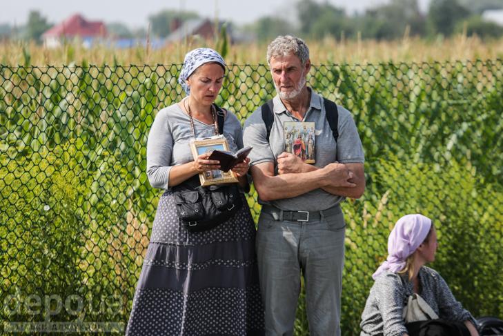 Як відпочивали під Борисполем учасники Хресної ходи - фото 24