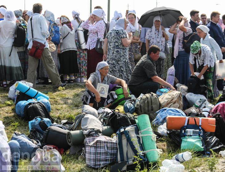 Як відпочивали під Борисполем учасники Хресної ходи - фото 13