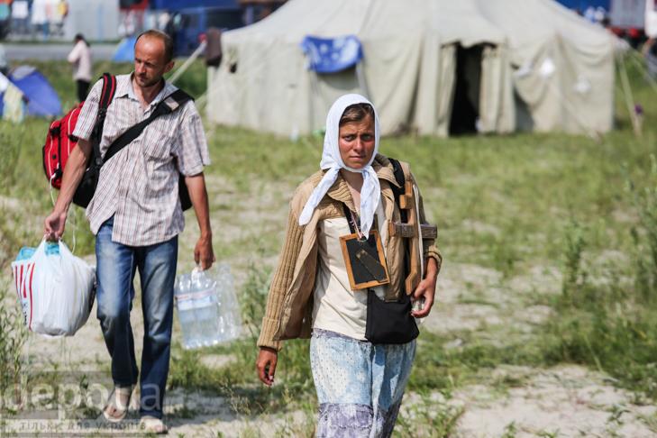 Як відпочивали під Борисполем учасники Хресної ходи - фото 20