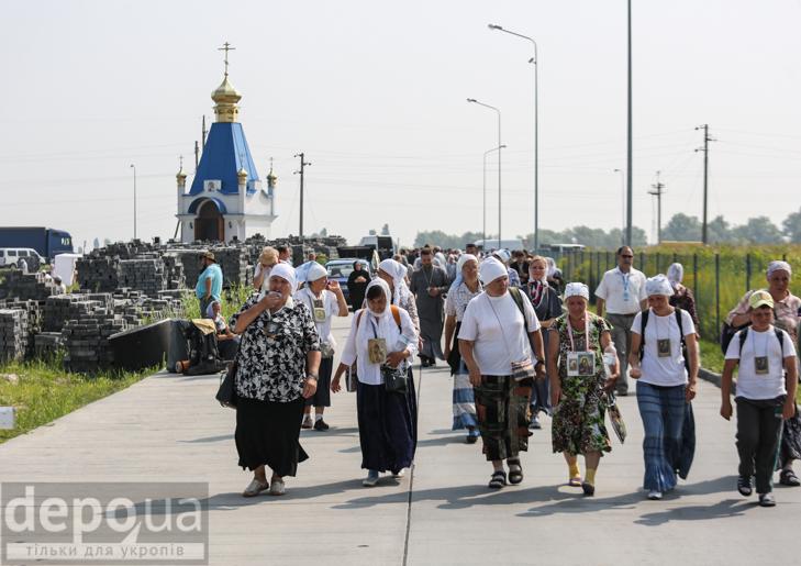 Як відпочивали під Борисполем учасники Хресної ходи - фото 19