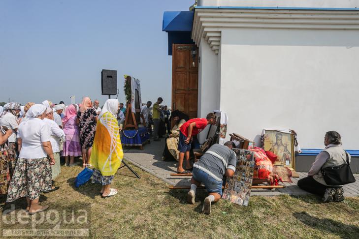 Як відпочивали під Борисполем учасники Хресної ходи - фото 7