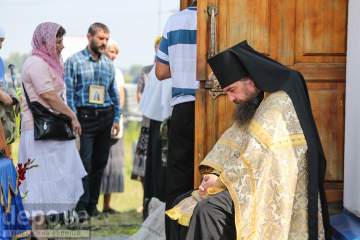 Як відпочивали під Борисполем учасники Хресної ходи - фото 11