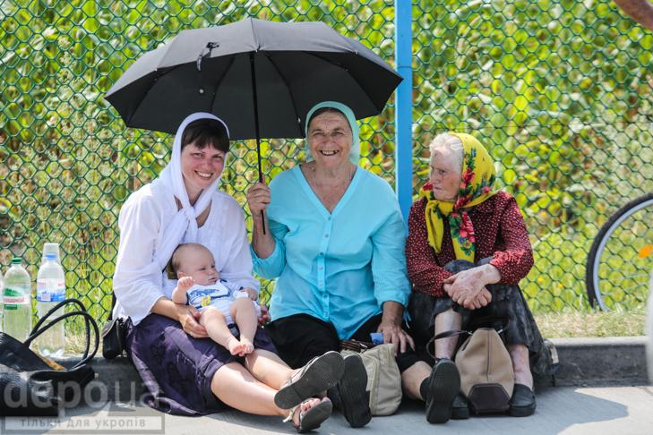 Як відпочивали під Борисполем учасники Хресної ходи - фото 23