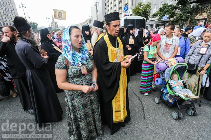 Як УПЦ МП хрестило Русь на Володимирській гірці - фото 2