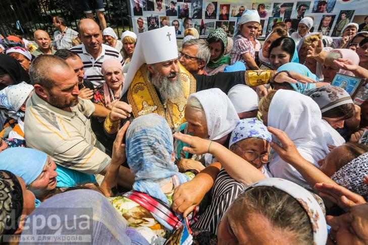 Як УПЦ МП хрестило Русь на Володимирській гірці - фото 4