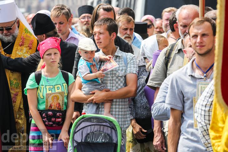 Як УПЦ МП хрестило Русь на Володимирській гірці - фото 8