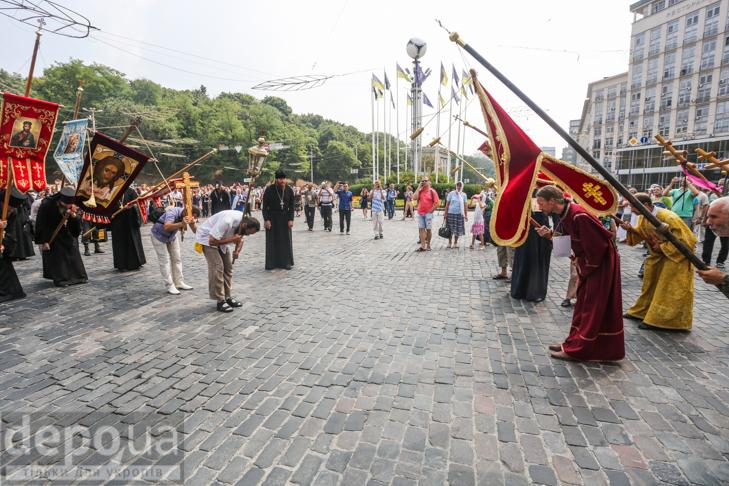 Як УПЦ МП хрестило Русь на Володимирській гірці - фото 10