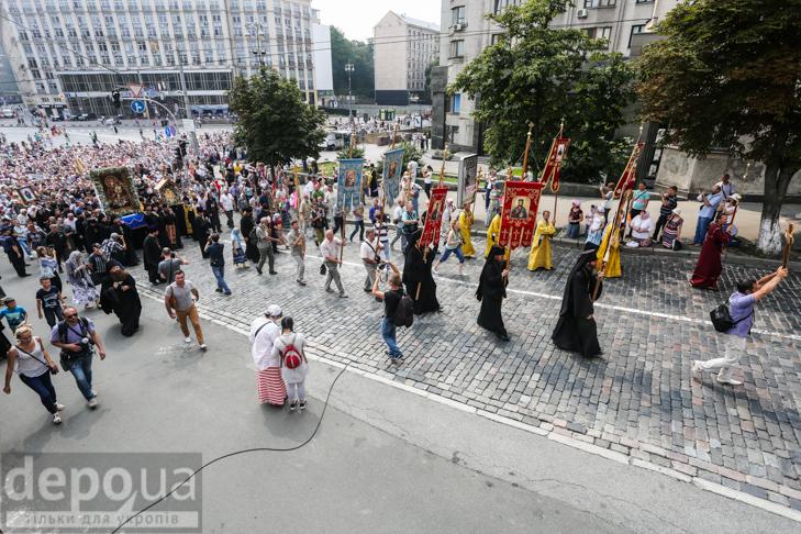 Як УПЦ МП хрестило Русь на Володимирській гірці - фото 11