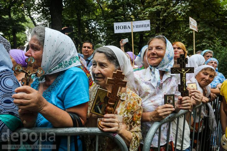 Як УПЦ МП хрестило Русь на Володимирській гірці - фото 13