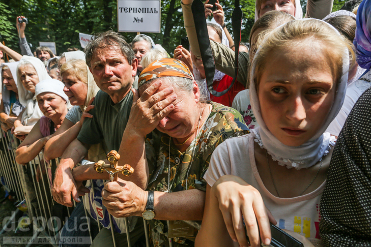 Як УПЦ МП хрестило Русь на Володимирській гірці - фото 15