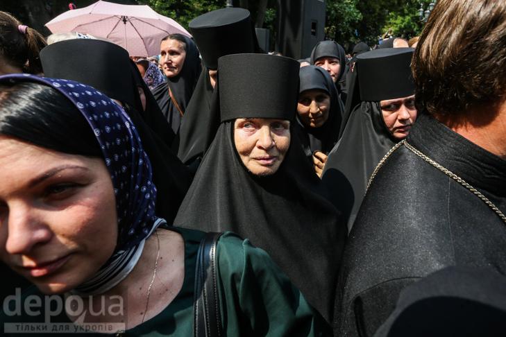 Як УПЦ МП хрестило Русь на Володимирській гірці - фото 16