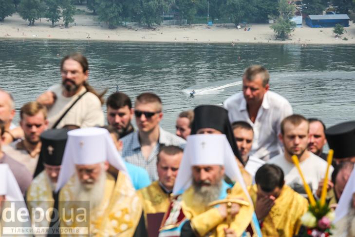 Як УПЦ МП хрестило Русь на Володимирській гірці - фото 26