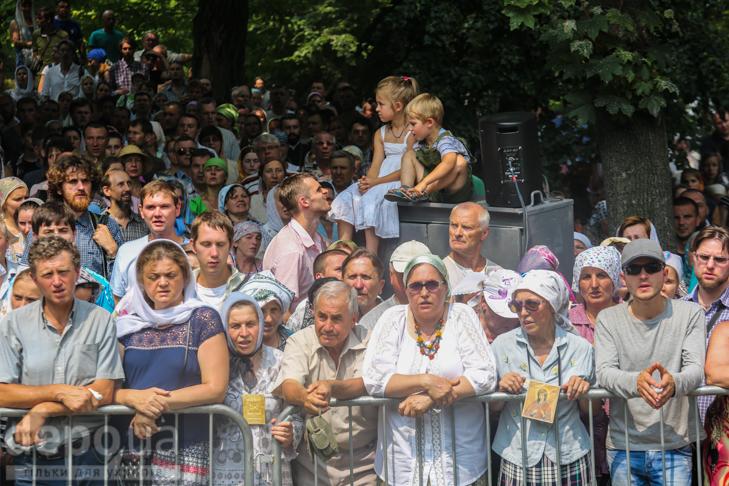 Як УПЦ МП хрестило Русь на Володимирській гірці - фото 19