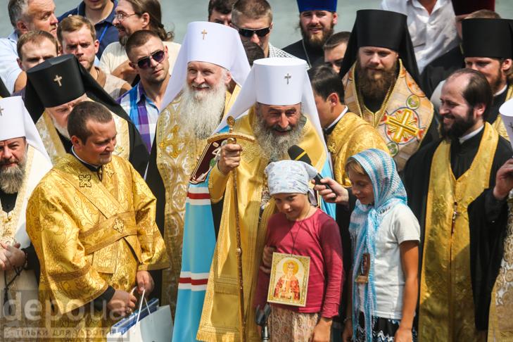 Як УПЦ МП хрестило Русь на Володимирській гірці - фото 22
