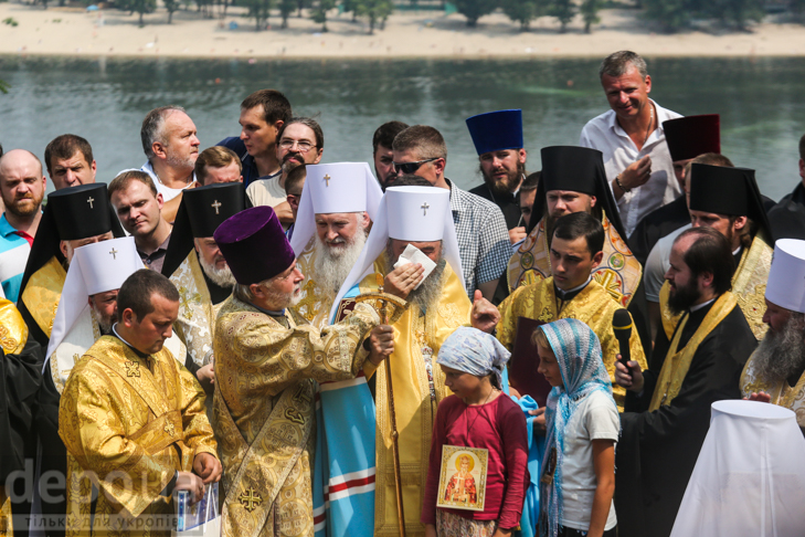 Як УПЦ МП хрестило Русь на Володимирській гірці - фото 23