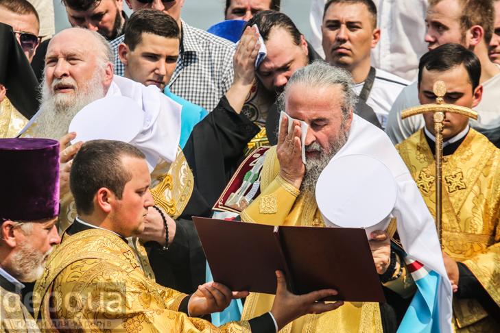 Як УПЦ МП хрестило Русь на Володимирській гірці - фото 27