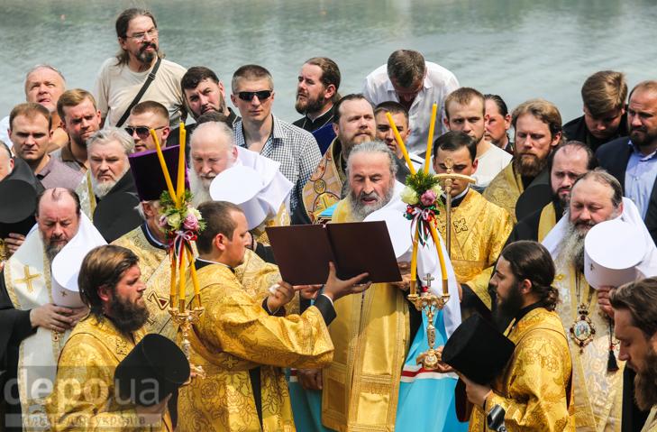Як УПЦ МП хрестило Русь на Володимирській гірці - фото 28