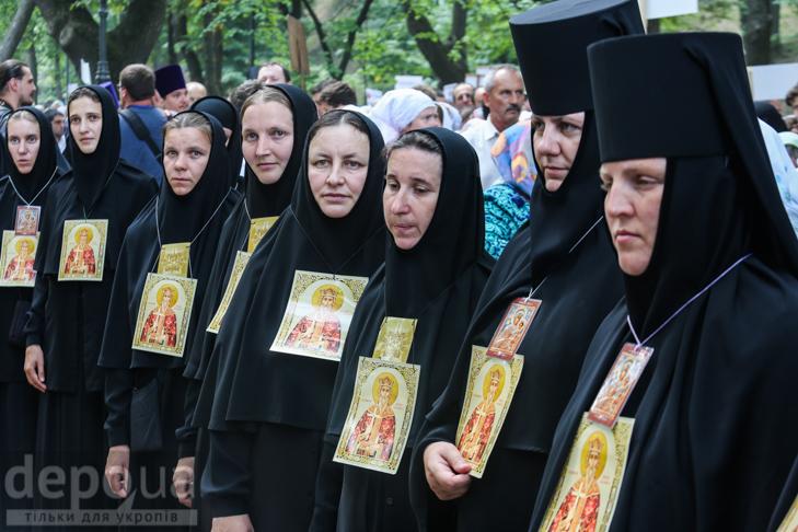 Як УПЦ МП хрестило Русь на Володимирській гірці - фото 29