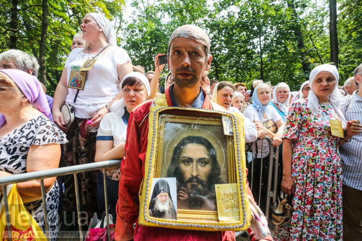 Як УПЦ МП хрестило Русь на Володимирській гірці - фото 31