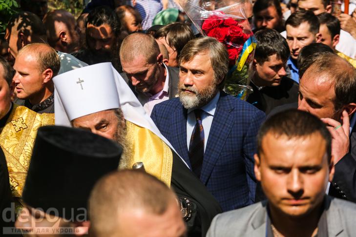 Як УПЦ МП хрестило Русь на Володимирській гірці - фото 34