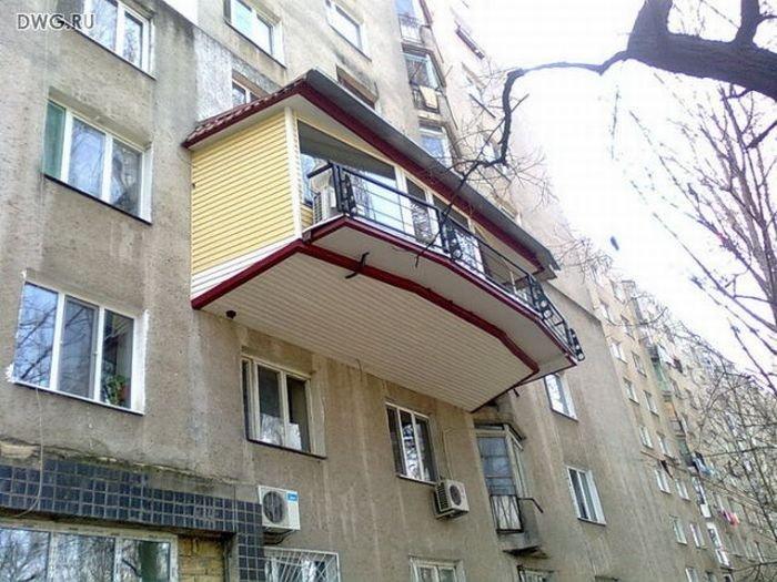 ТОП-20 балконів, володарі яких плювали на оточуючих - фото 18