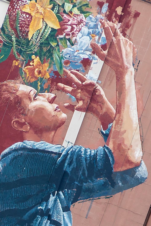 Австралійський стріт-артист Fintan Magee закінчив свій четвертий мурал у Києві - фото 1