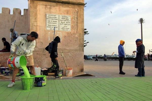 Італієць створив велетенське графіті на марокканські площі   - фото 1