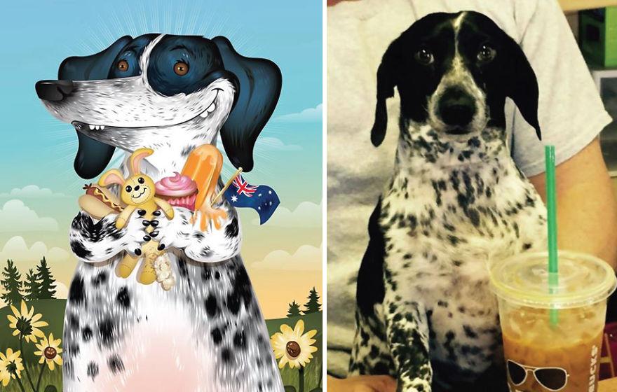 Як художник неймовірно зображує тварин з описів їхніх власників - фото 14