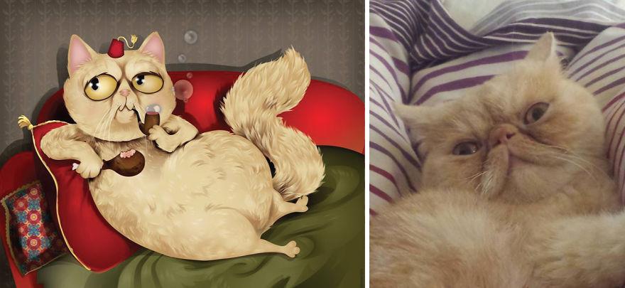 Як художник неймовірно зображує тварин з описів їхніх власників - фото 13
