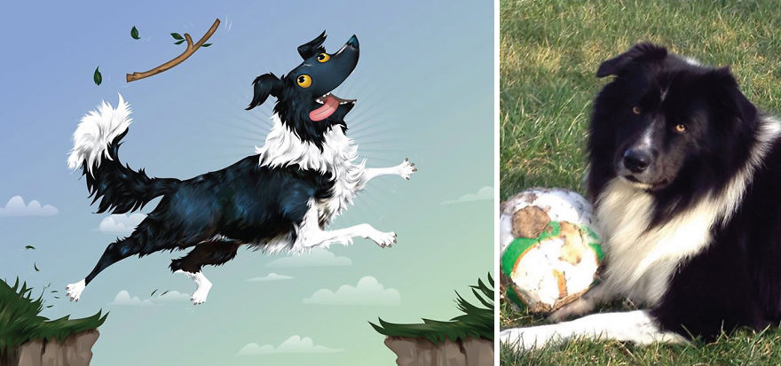 Як художник неймовірно зображує тварин з описів їхніх власників - фото 12