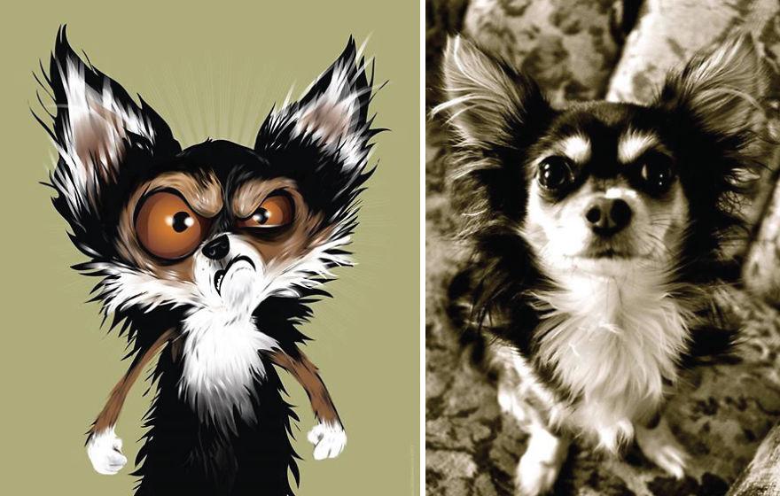 Як художник неймовірно зображує тварин з описів їхніх власників - фото 5