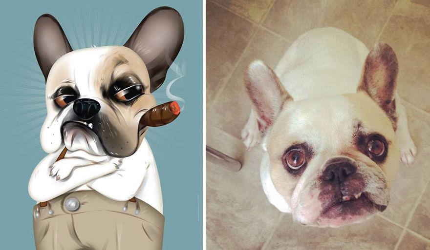 Як художник неймовірно зображує тварин з описів їхніх власників - фото 3