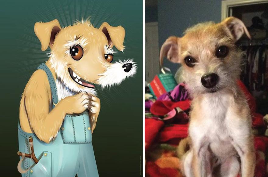 Як художник неймовірно зображує тварин з описів їхніх власників - фото 1