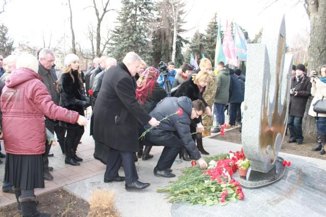 Вінничани вшанували пам'ять Героїв Небесної Сотні  - фото 2