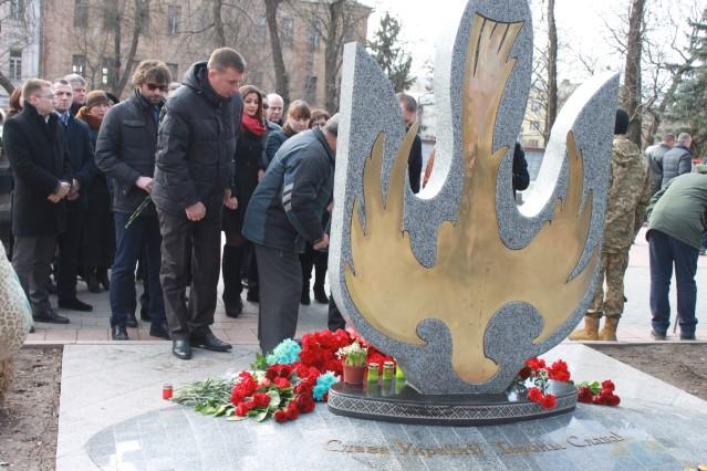 Вінничани вшанували пам'ять Героїв Небесної Сотні  - фото 1