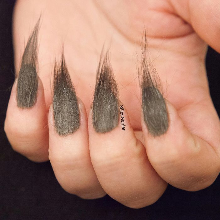 """""""Волохаті"""" нігті стають головним трендом цього року  - фото 2"""