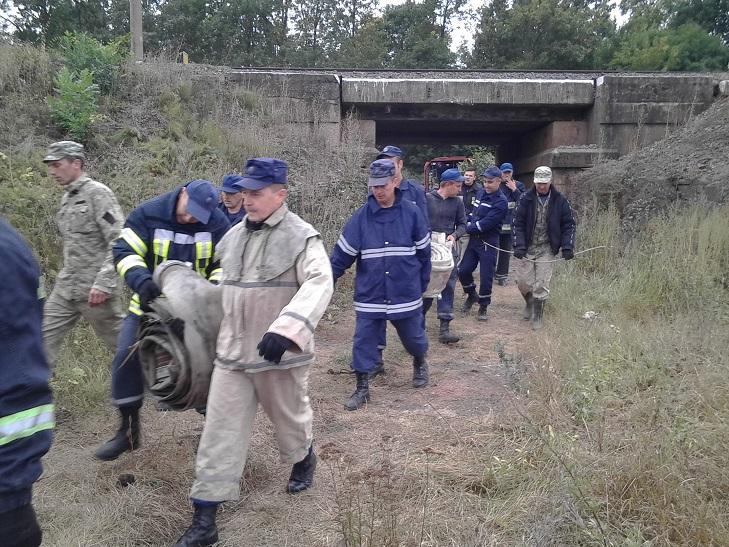 Ліквідація пожежі на Деражнянщині триває  - фото 3