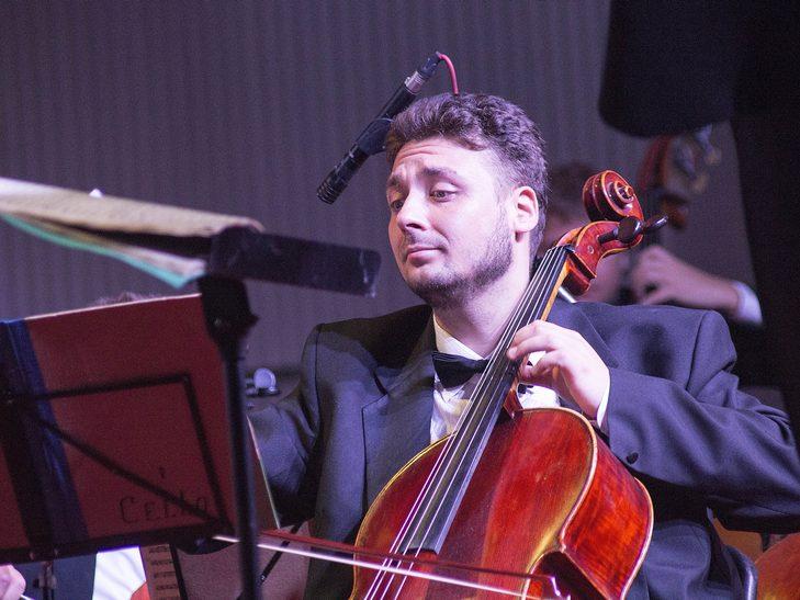 На відкритті джаз-фесту диригент львівського оркестру доручив вінничанці керувати своїми музикантами - фото 6