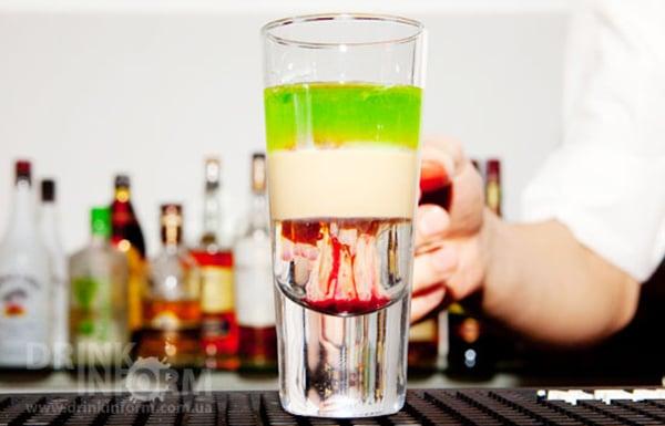 Как сделать коктейль слоями в домашних условиях