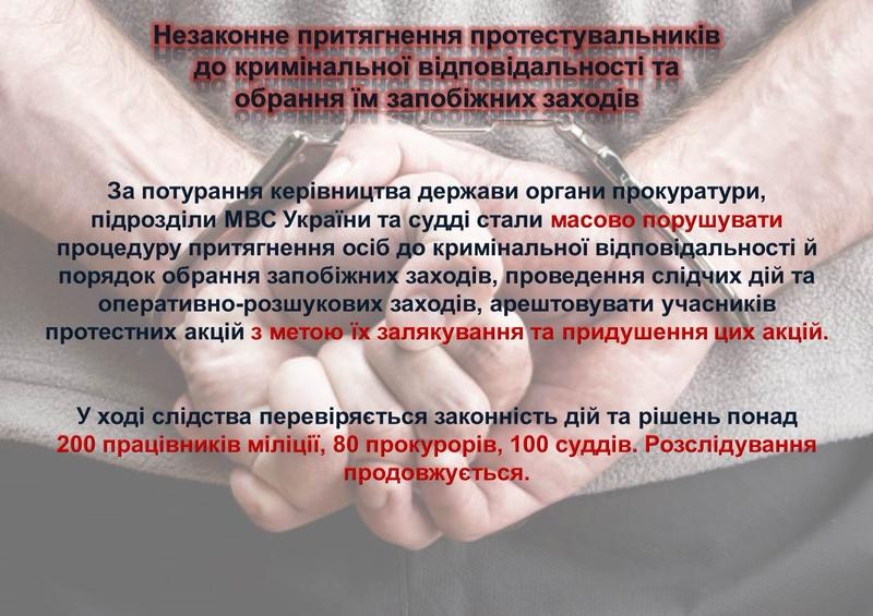 """ГПУ наочно показали, як Янукович """"зачищав"""" Майдан (ІНФОГРАФІКА) - фото 10"""
